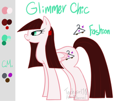 MLP - Glimmer Chic by Techgirl10