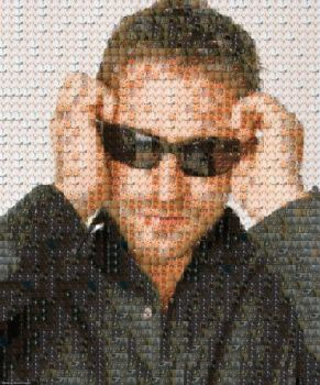 Gerry Photomosaic by ShizMiffle
