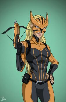 Tigress (Earth-27) commission by phil-cho