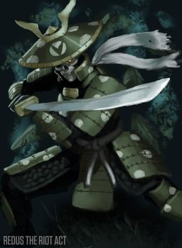 Varg Samurai by RedusTheRiotAct