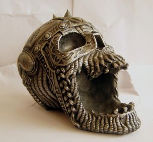 Metal Skull IV by StarSlateStock