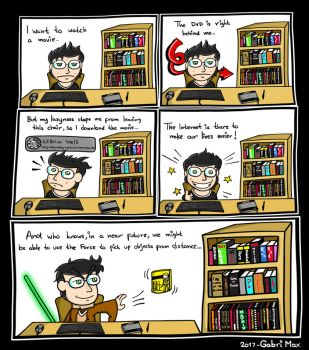 Star Wars Saves The Lazyness of Humanity. by GabriMax