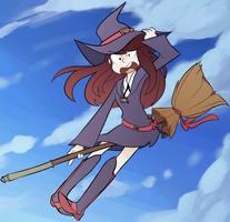 lil witch cutey by the-awesome-pup