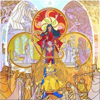 Feanor and Silmarils by breathing2004