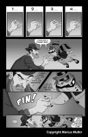 King vs. Murphy page 3 by marcusmuller