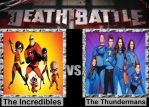 Death Battle: The Incredibles vs The Thundermans by porygon2z