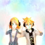 Entry 2 : Rin and Len Kagamine Contest by KisaSwan