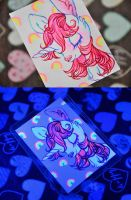 Uni Blacklight-card by Tamisery
