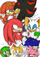 Hetero Sonic Couples by Narcotize-Nagini