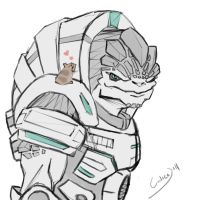 Grunt is a Softy by calicoJill