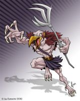 Thundercats Vultureman by 2Ajoe