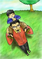 Father and Son by luzeon