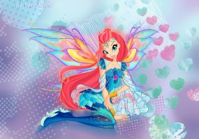 Winx club Bloom Bloomix by fantazyme