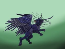 Dark Griffin WIP1 by Ruth-Tay