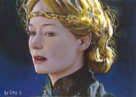Eowyn card 231 by charles-hall