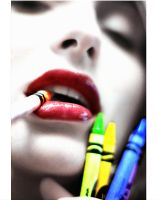 crayons by MatthewCooke