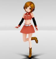 Appearance Chibi Meiko MMD download by Reon046