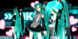 China Miku Dt by GrayFullbuster21