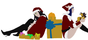 Zee and Cerzz Xmas - Flats by Ammeg88