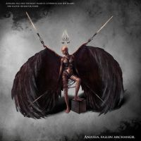 Anassia, Fallen Archangel by Balkoth26