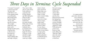 Three Days in Termina - Six by Liefesa