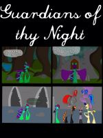 Guardians of thy night prolog page one by Aenaia
