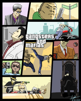 X-Over: Gangsters and Mafias by cyril002