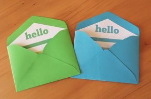 Free Printable Mini Envelopes by ClementineCreative