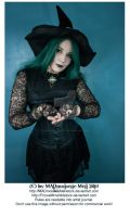 Halloween Gothic Witch Stock 005 by MADmoiselleMeliStock