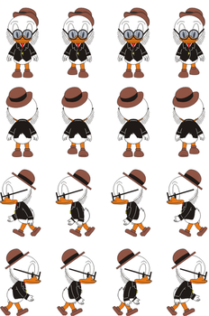 John D Rockerduck Final Sprite by 54tr10