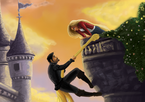 Tangled Captain Swan by ShinrinRei739