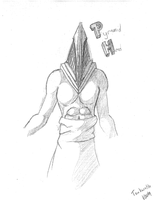 PYRAMID HEAD SKETCH by tsukurotta