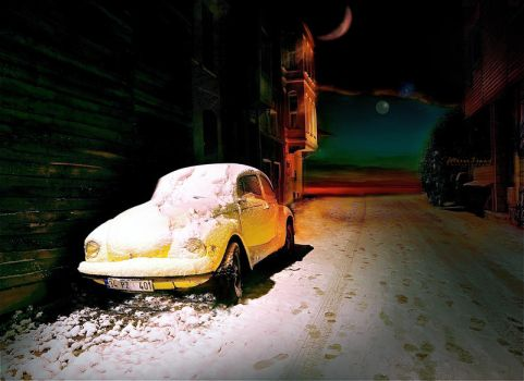The Lonely VW by MeRVe-S