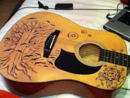My baby's guitar by Sprx-77AntauriGibson