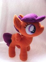 Scootaloo plush (better quality) by Eyeheartz0rd