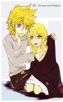 .:KH - Roxas and Namine:. by KickBass77