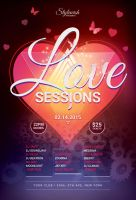 Love Sessions Flyer by styleWish