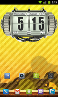 Kinetic Clock for Android by jesse