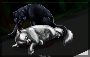 Snowfur's Death by Hero-Wuff