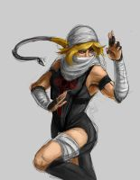 Nega Sheik by MinishCapsLock