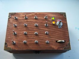 The Enigma Machine Puzzle Box by TXTCLA55