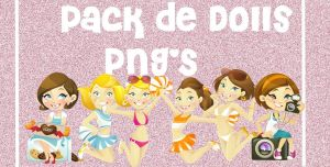 Pack De Dolls PNG'S by CutinaEditions