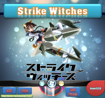 Strike Witches ICO and PNG by bryan1213