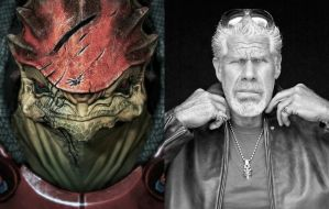 Mass Effect Fan Cast #6: Ron Perlman as Wrex by ImWithStoopid13