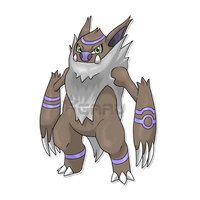 The Born FighterFakemon by Neliorra