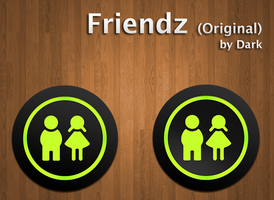 Friendz Application Icon by Akarui-Japan