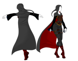 Custom Outfit Adopt 1 - Cloaked Reaper by ShadowInkAdopts
