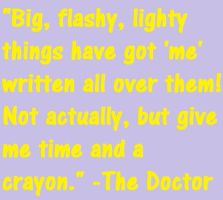 Doctor Who Quote 2 by ImLittleKasey