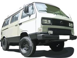 VW Bus Mk3 Syncro by eurojanek