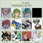 2011 Art Meme Thing by EnchantedTopaz